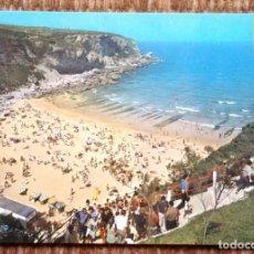 Postales: SANTANDER - PLAYA DE MATALEÑAS. Lote 195077578