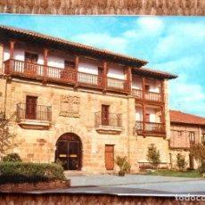 Postales: SANTILLANA DEL MAR - HOTEL LOS INFANTES. Lote 195078898