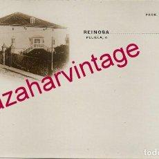 Postales: SIGLO XIX, RARISIMA POSTAL FOTOGRAFICA DE REINOSA, REVERSO SIN DIVIDIR. Lote 195181138
