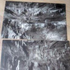 Postales: LOTE 2 POSTALES. VISTA SEGUNDA CUEVA DE ALTAMIRA. 2 Y 4. ALDUS SANTANDER. Lote 195200912