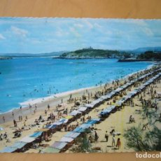 Postales: SANTANDER (CANTABRIA) - EL SARDINERO. PRIMERA PLAYA (ESCRITA Y CIRCULADA). Lote 195213626