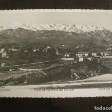 Postales: COMILLAS-VISTA DE LOS PICOS DE EUROPA-IMP· DI CAR-POSTAL ANTIGUA-(68.140). Lote 195227376