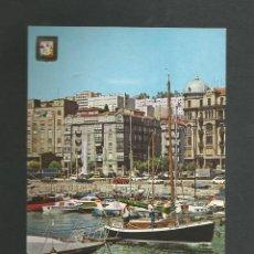 Postales: POSTAL SIN CIRCULAR - SANTANDER 82 - PUERTO CHICO - EDITA ESCUDO DE ORO. Lote 195266187