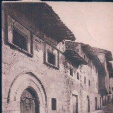 Postales: POSTAL SANTILLANA DEL MAR - CASA DEL PRIMER MARQUES DE SANTILLANA - WUNDERLICH 7429 - CIRCULADA. Lote 195308035