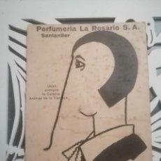 Postales: POSTAL PERFUMERIA LA ROSARIO. Lote 195393103