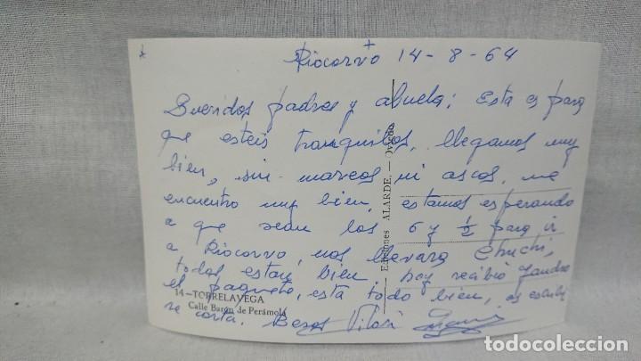Postales: ANTIGUA POSTAL CALLE BARÓN DE PERAMOLA TORRELAVEGA - CANTABRIA AÑOS 60 - Foto 2 - 195494737