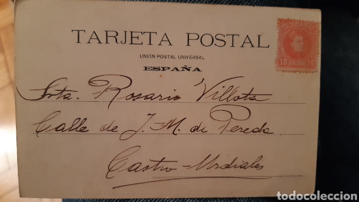 Postales: Fot laurent Peñas arriba al molino colección g. De la puente enviada a castro urdiales - Foto 2 - 195590251