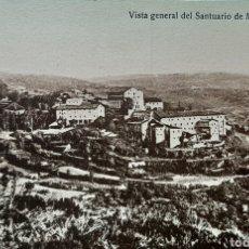 Postales: VISTA GENERAL DEL SANTUARIO DE MONTES-CLAROS. TARJETA POSTAL.SIN CIRCULAR.. Lote 195881928