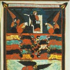 Cartes Postales: SANTO TORIBIO DE LIEBANA. SAN BEATO . EL SEÑOR ADORADO POR LOS 4 ANIMALES (136) ... SIN CIRCULAR. Lote 197134400