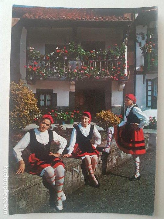 CANTABRIA MUCHACHAS MONTAÑESAS POSTAL (Postales - España - Cantabria Antigua (hasta 1.939))