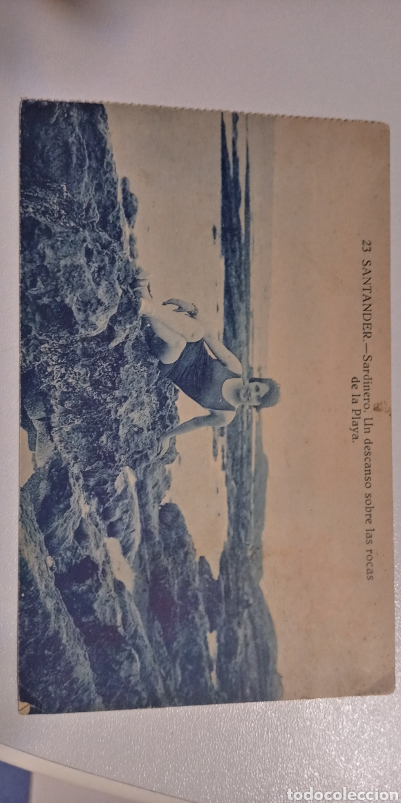 Postales: Lote de 3 postales Santander Sardinero y el Casino - Foto 6 - 197470295