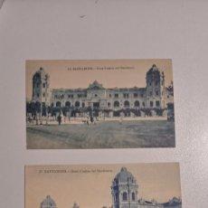Postales: LOTE DE 3 POSTALES SANTANDER SARDINERO Y EL CASINO. Lote 197470295