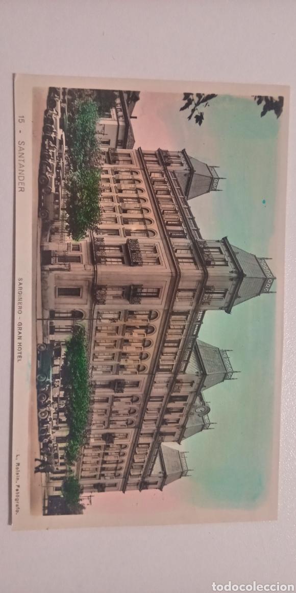 Postales: Lote de 2 postales Santander coloreadas El Casino Roisin años 30 - Foto 4 - 197580664