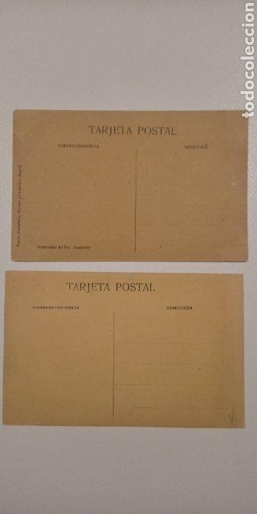 Postales: Lote 2 Postales Santander Alameda 2° Burreras y Muelle. Descargando un barco - Foto 2 - 197774962