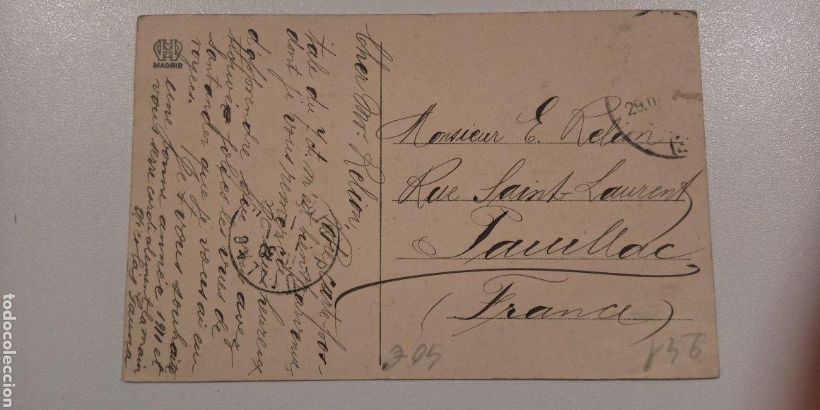 Postales: postal Santander Playa del Sardinero escrita y matasellada en 1910 - Foto 2 - 197776801