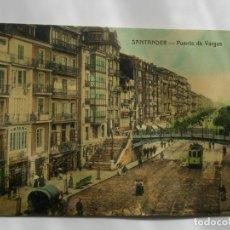 Postales: POSTAL DE SANTANDER. PUENTE DE VARGAS. Lote 197829268