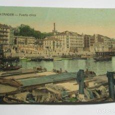 Postales: POSTAL DE SANTANDER. PUERTO CHICO. Lote 197830481