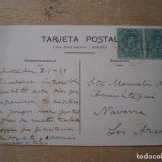 Postales: SANTANDER MONUMENTO AL SAGRADO CORAZON CIRCULADA. Lote 198537466