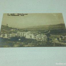 Postales: POSTAL FOTOGRAFICA ARTÉS VISTA PARCIAL - BAGES - FOT.PALMAROLA - VICH. Lote 198990113