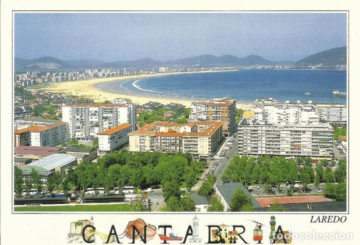 LAREDO. PLAYA Y BAHÍA. 2000. BUEN ESTADO. 11X15 CM. A.M. (Postales - España - Cantabria Moderna (desde 1.940))