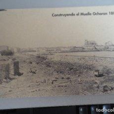Postales: CASTRO URDIALES. MUELLE DE OCHARAN MAZAS. BILBAO. Lote 199496478