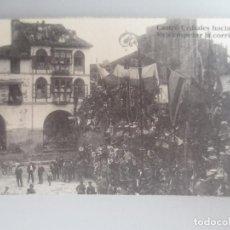 Postales: CASTRO URDIALES. CORRIDA DE TOROS PLAZA DEL AYUNTAMIENTO. Lote 199497361