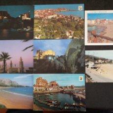 Postales: CASTRO URDIALES, CANTABRIA. LOTE DE 8 POSTALES. Lote 199746195