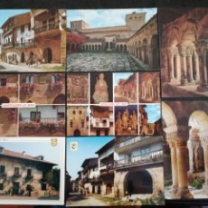 Postales: SANTILLANA DEL MAR, CANTABRIA. LOTE DE 8 POSTALES. Lote 199746811
