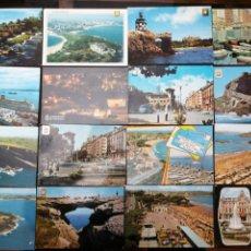 Postales: SANTANDER, CANTABRIA. LOTE DE 24 POSTALES. Lote 199755675