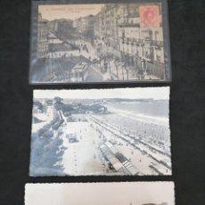 Postales: SANTANDER, CANTABRIA LOTE DE TRES ANTIGUAS POSTALES. Lote 199759887