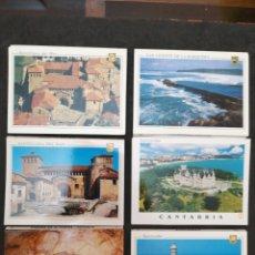Postales: CANTABRIA, LOTE DE 6 LIBRO DE POSTALES. Lote 199761997