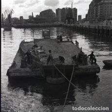 Postales: NEGATIVO ESPAÑA CANTABRIA SANTANDER PUERTO 1970 55MM GRAN FORMATO NEGATIVE SANTANDER PHOTO FOTO. Lote 200193152