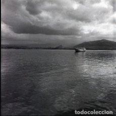 Postales: NEGATIVO ESPAÑA CANTABRIA SANTANDER PUERTO 1970 55MM GRAN FORMATO NEGATIVE SANTANDER FOTO BARCO. Lote 200193221
