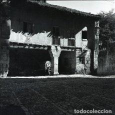 Postales: NEGATIVO ESPAÑA CANTABRIA SANTILLANA 1970 55MM GRAN FORMATO NEGATIVE SANTANDER PHOTO FOTO. Lote 200379338