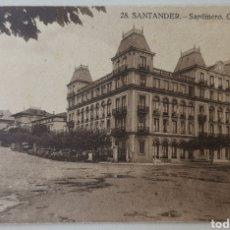 Cartes Postales: TARJETA POSTAL SANTANDER - SARDINERO GRAND HOTEL 28. - CANTABRIA. Lote 200724032