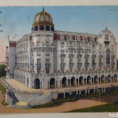 Cartes Postales: TARJETA POSTAL SANTANDER -HOTEL REAL ABIERTO TODO EL AÑO -SARDINERO -C/ PÉREZ GALDOS -CANTABRIA 1922. Lote 200784756