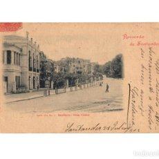 Postales: SANTANDER.(CANTABRIA).- RECUERDO DE SANTADER. SERIE IV. SARDINERO GRAN CASINO. DOUMARCO. Nº3.. Lote 201337806