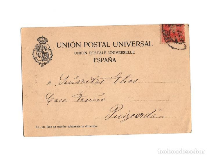 Postales: SANTANDER.(CANTABRIA).- RECUERDO DE SANTADER. SERIE IV. SARDINERO GRAN CASINO. DOUMARCO. Nº3. - Foto 2 - 201337806