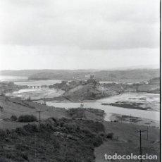 Postales: NEGATIVO ESPAÑA CANTABRIA SAN VICENTE DE LA BARQUERA 1972 55MM GRAN FORMATO NEGATIVE SANTANDER. Lote 202087907