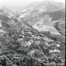 Postales: NEGATIVO ESPAÑA CANTABRIA POTES CAMALEÑO SANTO TORIBIO DE LIÉBANA 1972 55MM GRAN FORMATO SANTANDER. Lote 202987786