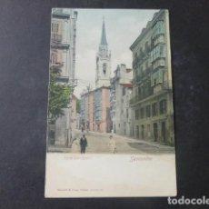 Postales: SANTANDER TORRE DE SAN IGNACIO ED. ROMMLER & JONAS REVERSO SIN DIVIDIR. Lote 203760452