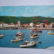 Postales: POSTAL 8 CASTRO URDIALES PUERTO Y VISTA PARCIAL ED ARRIBAS CANTABRIA. Lote 203889572