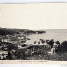 Cartes Postales: SAN VICENTE DE LA BARQUERA. EDITOR MANUEL CASTRO. Lote 203974426