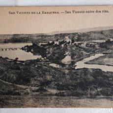 Cartes Postales: SAN VICENTE DE LA BARQUERA.- SAN VICENTE ENTRE DOS RÍAS.. Lote 203976857