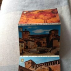 Postales: 10 POSTALES LIBRO ACORDEON - CANTABRIA - SANTILLANA DEL MAR .. Lote 204360435