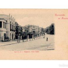 Postales: SANTANDER.(CANTABRIA).- RECUERDO DE SANTADER. SERIE IVª. SARDINERO GRAN CASINO. DOUMARCO. Nº3.. Lote 204507511