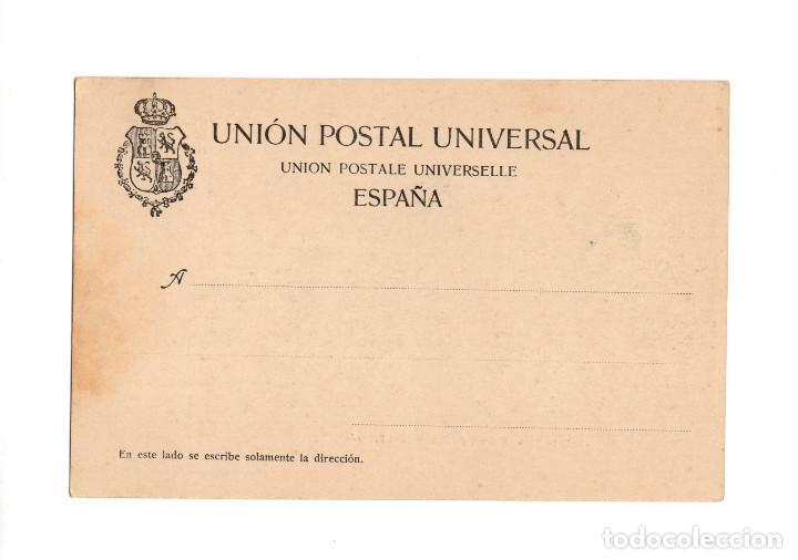 Postales: SANTANDER.(CANTABRIA).- RECUERDO DE SANTADER. SERIE Iª. Nº5.BALNEARIO FUENTES DEL FRANCÉS. DOUMARCO. - Foto 2 - 204508533