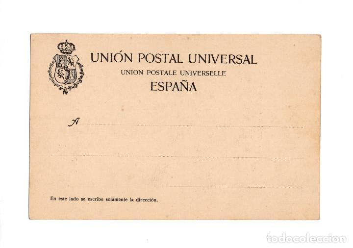 Postales: SANTANDER.(CANTABRIA).- RECUERDO DE SANTANDER, SERIE IIª Nº 6, IGLESIA DE SANTA LUCÍA. DUOMARCO - Foto 2 - 204510138