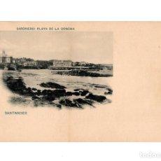 Postales: SANTANDER.(CANTABRIA).- SARDINERO PLAYA DE LA CONCHA.. Lote 204510833