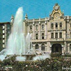 Postales: SANTANDER - FUENTE Y AYUNTAMIENTO. Lote 204994195